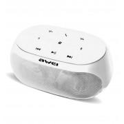 Беспроводные стильные Bluetooth колонки Awei Y200 (белый)