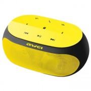 Беспроводные стильные Bluetooth колонки Awei Y200 (желтый)