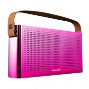 Беспроводные стильные Bluetooth колонки Awei Y300 (розовый)