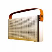 Беспроводные стильные Bluetooth колонки Awei Y300 (золотой)