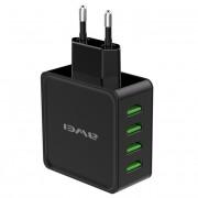 Сетевое зарядное устройство 4 USB-microUSB Awei C-842 (Черный)