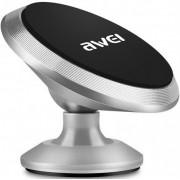 Автодержатель для смартфона Awei X6 (Серебристый)