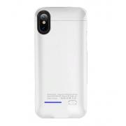 Чехол с аккумулятором Smart Battery Case для iPhone X iPhone XS (Белый)