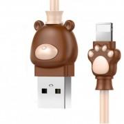 Кабель Lightning Baseus Bear USB 2.0 1 метр (Кофейно-хакки)