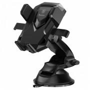 Держатель Baseus Robot Car Bracket With Sucker SUROB-01 (Черный)