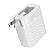 Быстрое зарядное устройство Baseus QC3.0 Dual USB Charger ZCENY-A02 (Белый)