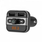 Автомобильный FM-модулятор с Bluethooth Eplutus FB-04 (Черный)