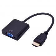 Адаптер переходник HDMI to VGA Adapter (Черный)