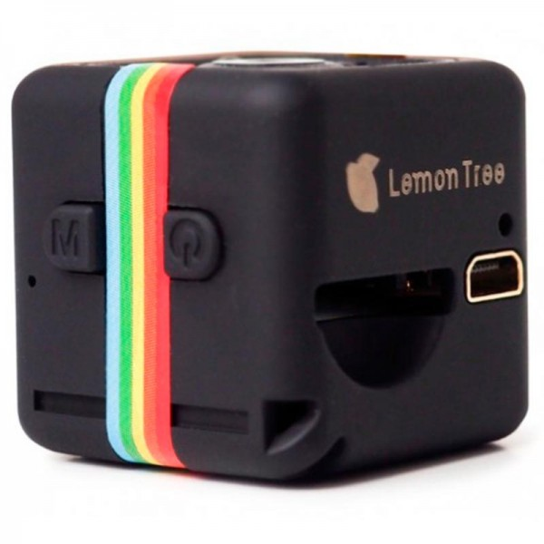 Мини видеокамера Lemon Tree Sports HD DV SQ11 (Черный)