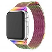 Ремешок Milanese Loop для Apple Watch 42 44 мм ремешок на магнитной застежке, гибкий, нервущийся (Хамелеон)