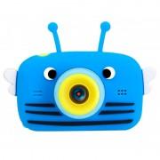 Детская цифровая камера Fun Camera View с селфи камерой (Голубая)