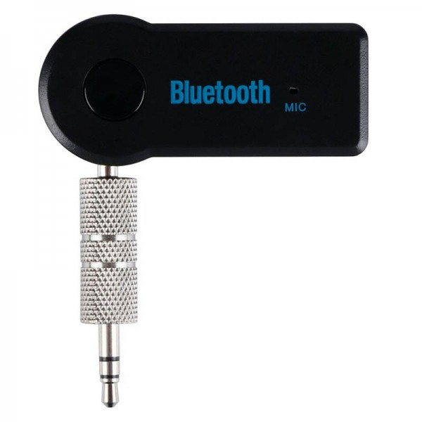 Автомобильный музыкальный приемник Car aux Bluetooth music receiver (Черный)