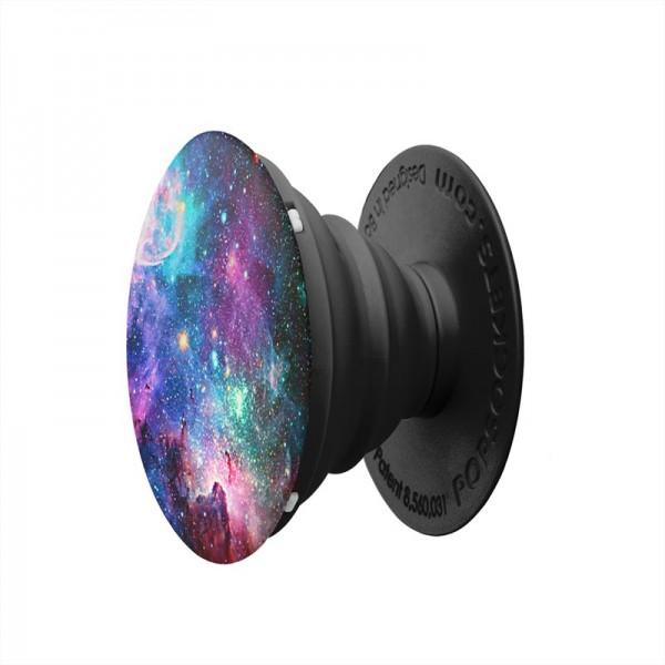 Складная подставка держатель Попсокет с необычными изображениями Космос (цветной)