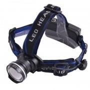 Налобный фонарь аккумуляторный FA-XQ24T6 (Черный)