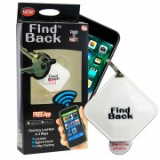 Брелок для поиска ключей и других предметов Find Back (Белый)