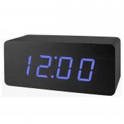 Настольные цифровые часы-будильник VST-863 (черные)