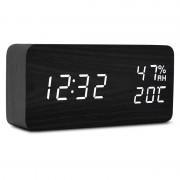 Настольные цифровые часы-будильник VST-862 (черные)
