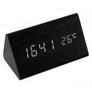 Настольные цифровые часы-будильник VST-861 (черный)