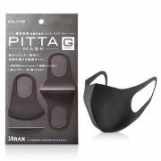 Многоразовая маска для мастера маникюра Pitta Mask 6 шт. (Черный)