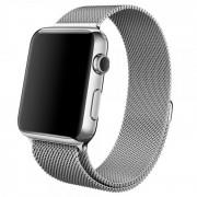 Ремешок Milanese Loop для Apple Watch 38 40 мм (Серебристый)