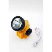 H3W Налобный аккумуляторный фонарь Li-ion Космос арт. 143808
