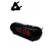VST-716-1 Электронные часы светящее сетевые (Красный) арт. 144379