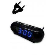 VST-716-5 Электронные часы светящее сетевые (Синий) арт. 144376