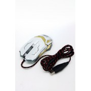 S-400 Игровая мышка для компьютера проводная (Белый) арт. 143793