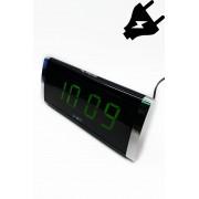 VST-730-2 Электронные часы светящее сетевые (Зелёный) арт. 144375