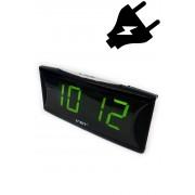 VST-719-2 Электронные часы светящее сетевые (Зелёный) арт. 144372
