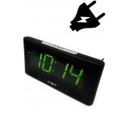 VST-732-2 Электронные часы светящее сетевые (Зелёный) арт. 144369