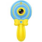 Детская цифровая мини камера фотоаппарат Волшебная палочка X3 (голубой)