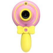 Детская цифровая мини камера фотоаппарат Волшебная палочка X3 (Розовый)