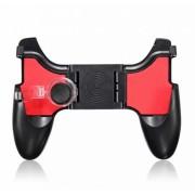 Игровой контроллер Gamepad для телефона с триггерами для игры в PUBG и FORTNITE 5 в 1 (Черный)