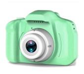 Детский фотоаппарат цифровой X2 (Зеленый)