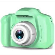 Детская цифровая мини камера фотоаппарат цифровой X2 (Зеленый)