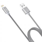 Кабель Hoco UPF01 Metal MFI charging cable (Серый)