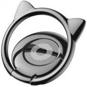 Держатель кольцо Baseus Cat Ear Ring Bracket SUMA-01 (Черный)