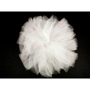Бант Одуванчик для волос (Белый)
