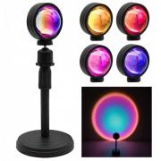 Светодиодная декоративная лампа с проекцией заката Projection lamp sunset lamp YD009-RGB