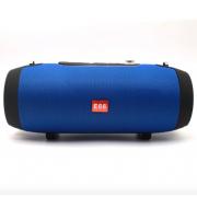 Портативная колонка Bluetooth E66 (Синяя)