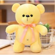 Мягкая плюшевая игрушка Мишка 20 см (Желтая)