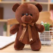 Мягкая плюшевая игрушка Мишка 30 см (Коричневая)