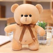 Мягкая плюшевая игрушка Мишка 40 см (Бежевая)