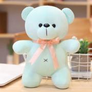 Мягкая плюшевая игрушка Мишка 20 см (Голубая)