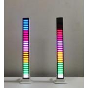 Светодиодный RGB светильник Эквалайзер RA1066 (Белый)