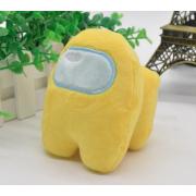 Мягкая игрушка Among Us Амонг Ас 20 см (Желтая)