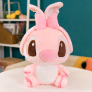 Мягкая игрушка Fluffy Stich 35 см (Розовая)