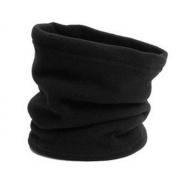 Зимний шарф бафф из флиса (Черный)