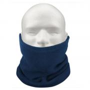 Зимний шарф бафф из флиса (Синий)